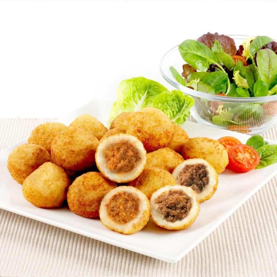 Patatas Rellenas de Carne. 1 Kg
