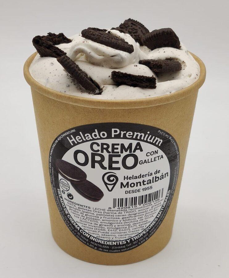 Helado Premium Oreo. 500ml
