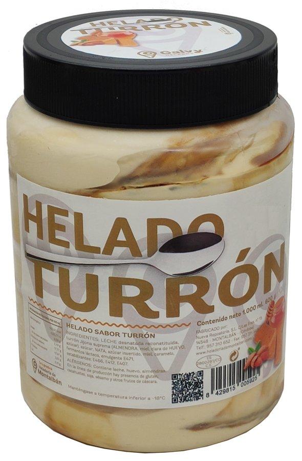 Tarro Helado Turrón 1 L.