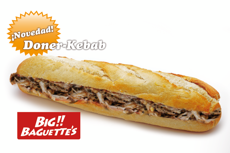 Baguette de Kebab de Ternera