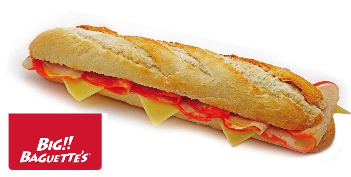 Baguette de Lomo y Queso. 6 Uds.