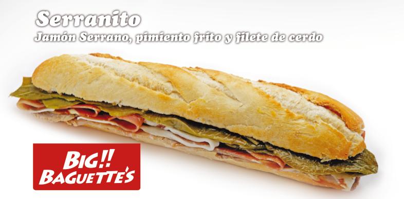 Baguette de Serranito
