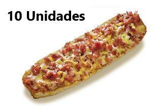 Bocapizza de Bacon. 10 Uds. Formato Ahorro
