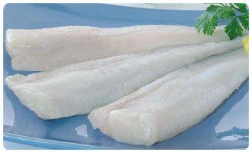 Filetes de Merluza sin piel. 750g