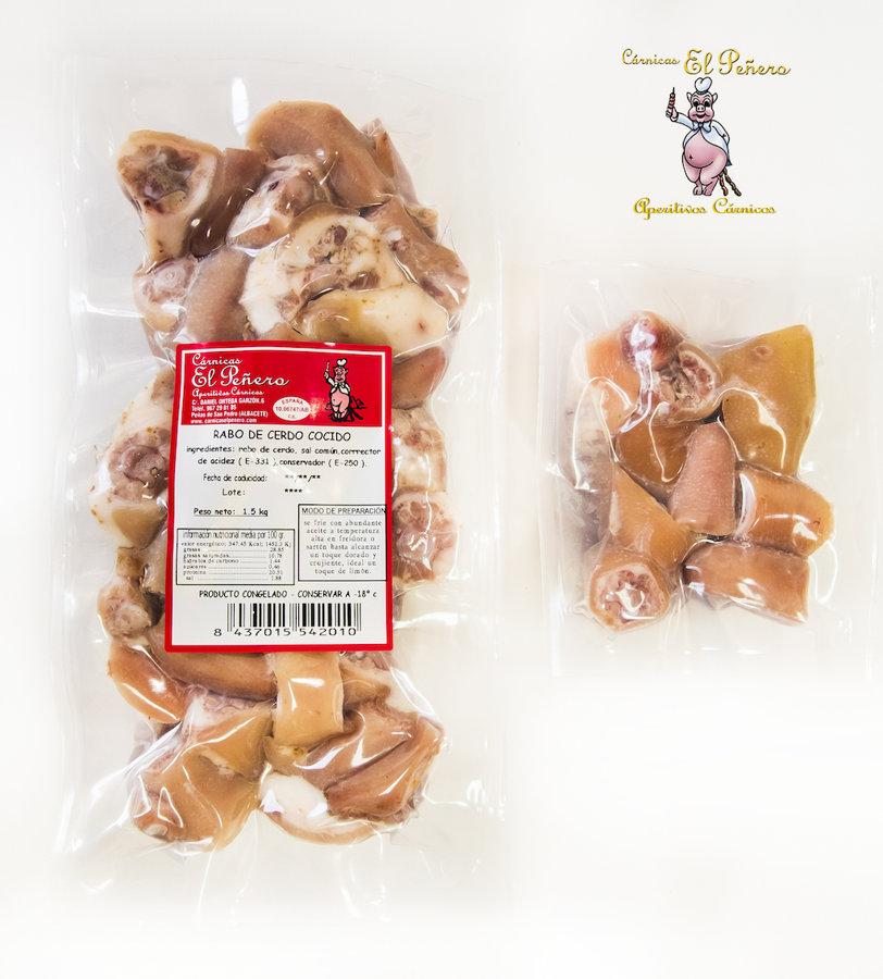 Rabo de Cerdo Cocido. 1.5 Kgs