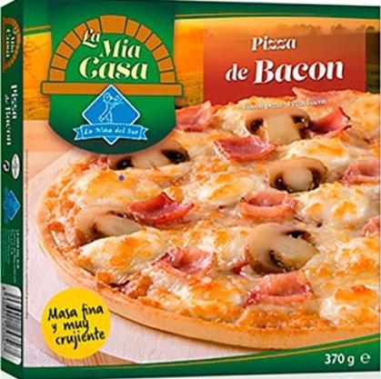 Pizza Bacon Mia Casa 370g.