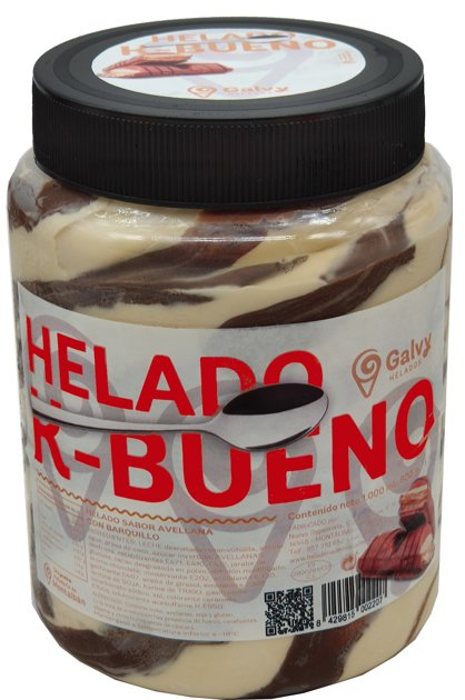 Tarro Helado K-Bueno. 1 L