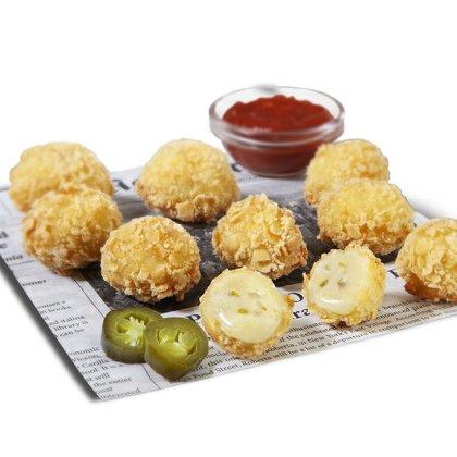 Bites de Jalapeño y Gouda. 1 Kg
