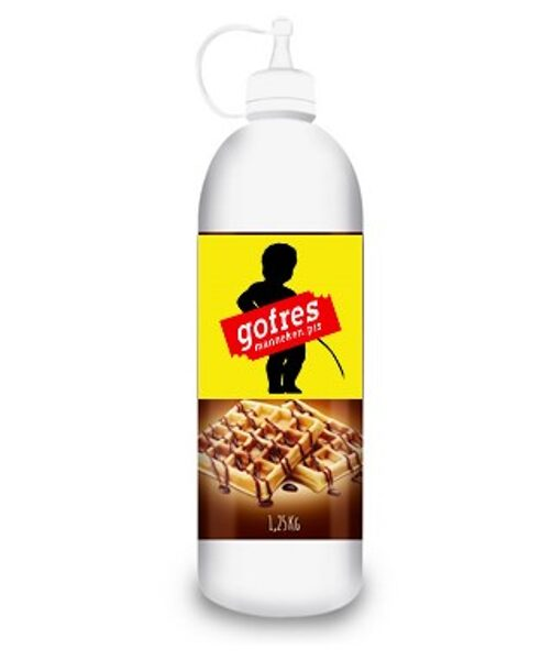 Chocolate Blanco para Gofres. 1 L