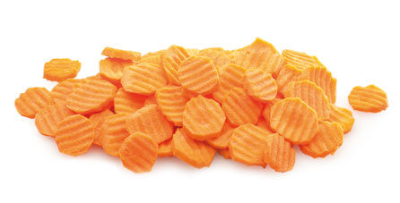 Zanahoria en rodajas. 2.5 Kgs